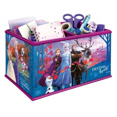 Ravensburger-12122 3D Puzzle - Aufbewahrungsbox - Frozen II