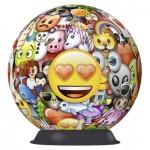 Ravensburger-12198 3D Puzzle - Emoji