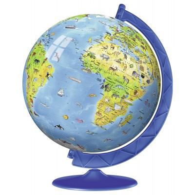 Ravensburger-12339 3D Puzzle - Globe in Französisch