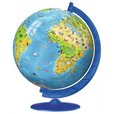 Ravensburger-12340 3D Puzzle - Globe in Italienisch