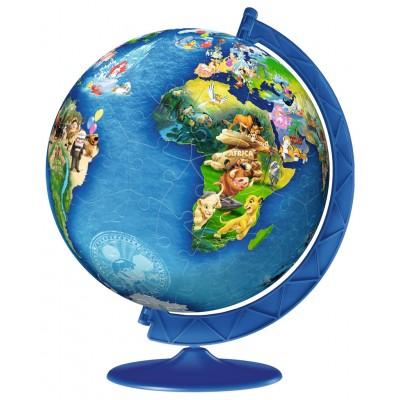 Ravensburger-12343 3D Puzzle - Disney Globe