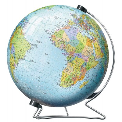 Ravensburger-12436 3D Puzzle Globe