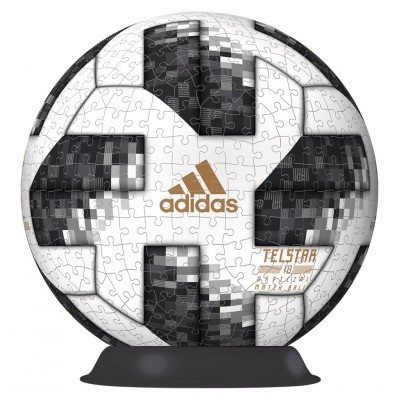 Puzzle  Ravensburger-12437 Match Ball 2018 FIFA World Cup