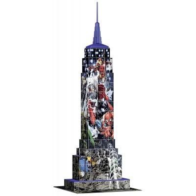 Ravensburger-12517 3D Puzzle - Marvel Empire State Building
