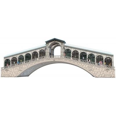 Ravensburger-12518 3D Puzzle - Rialtobrücke