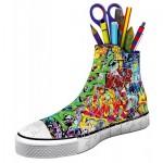 Ravensburger-12535 3D Puzzle - Sneaker Graffiti