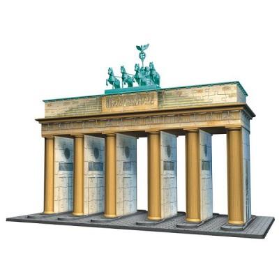 Ravensburger-12551 3D Puzzle, 324 Teile - Brandenburger Tor, Berlin