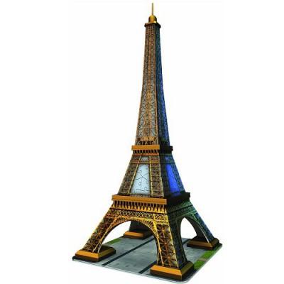Ravensburger-12556 3D Puzzle- 216 Teile: Eiffelturm, Paris