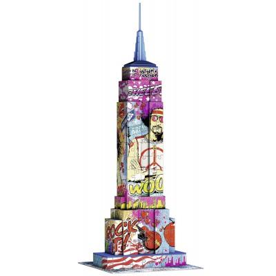 Ravensburger-12599 3D Puzzle - Empire State Building Pop Art