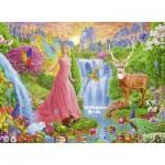 Puzzle  Ravensburger-12624 XXL Teile - Magischer Feenzauber