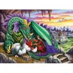 Puzzle  Ravensburger-12655 XXL Teile - Königin der Drachen