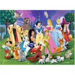 Puzzle  Ravensburger-12698 Disney Lieblinge