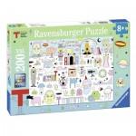 Puzzle  Ravensburger-12702 XXL Teile - Triennale
