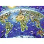 Puzzle  Ravensburger-12722 XXL Teile - Große, weite Welt