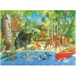 Puzzle  Ravensburger-12740 XXL Teile - Waldfreunde