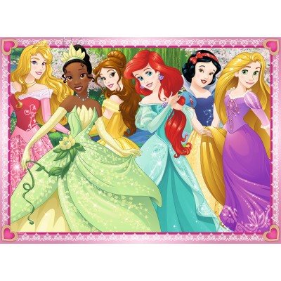 Puzzle  Ravensburger-12745 XXL Teile - Disney Princess