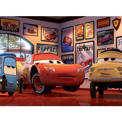 Ravensburger-12781 Puzzle 200 Teile XXL - Cars: Lightning McQueen