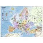 Puzzle  Ravensburger-12837 XXL Teile - Politische Europakarte