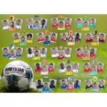 Puzzle  Ravensburger-12848 Bundesliga Saison 2019/2020
