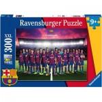 Puzzle  Ravensburger-12897 XXL Teile - Barcelona FC