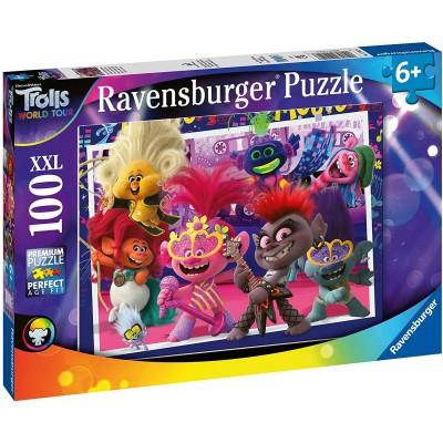 Puzzle  Ravensburger-12912 XXL Teile - Trolls