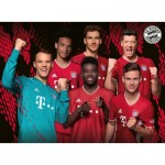 Puzzle  Ravensburger-12918 XXL Teile - FC Bayern