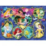 Puzzle  Ravensburger-13108 Galerie der Disney Prinzessinnen