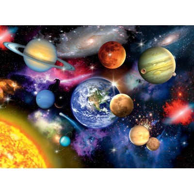 Puzzle Ravensburger-13226 XXL Teile - Solar System