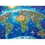 Puzzle  Ravensburger-13227 XXL Teile - Welt Denkmäler