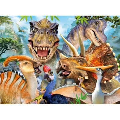 Puzzle Ravensburger-13246 Dino Selfies