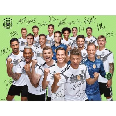 Puzzle  Ravensburger-13248 DFB, Weltmeisterschaft 2018