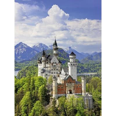 Puzzle Ravensburger-13681 XXL Teile - Neuschwanstein