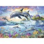 Puzzle  Ravensburger-13697 Coloring Booklet - Bunte Unterwasserwelt