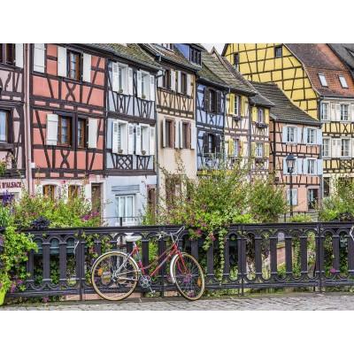 Puzzle  Ravensburger-13711 XXL Teile - Colmar, Frankreich