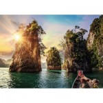 Puzzle  Ravensburger-13968 Nature Edition No 15 - Three Rocks in Cheow, Thailand