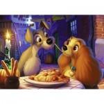 Puzzle  Ravensburger-13972 Disney - Susi und Strolch