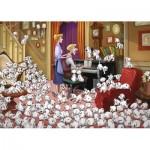 Puzzle  Ravensburger-13973 Disney - 101 Dalmatiner