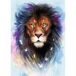 Puzzle  Ravensburger-13981 Majestätischer Löwe
