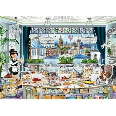 Puzzle  Ravensburger-13985 London Tea Party