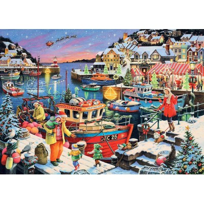 Puzzle Ravensburger-13991 Home For Christmas