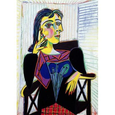Puzzle  Ravensburger-14088 Picasso Pablo - Porträt von Dora Maar