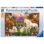Puzzle  Ravensburger-14195 Zauberhafte Einhörner
