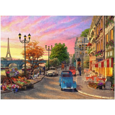 Puzzle Ravensburger-14505 Dominic Davison: Abend in Paris
