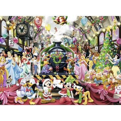 Puzzle  Ravensburger-14739 Disney: Weihnachts-Zug