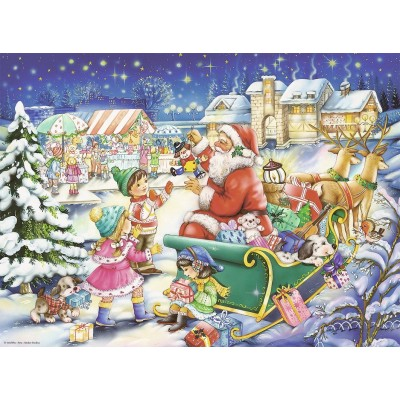 Puzzle  Ravensburger-14740 Weihnachten