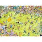 Puzzle  Ravensburger-14786 Beim Fußballspiel