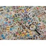 Puzzle  Ravensburger-14805 Briefmarken