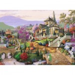 Puzzle  Ravensburger-14806 Hillside Retreat