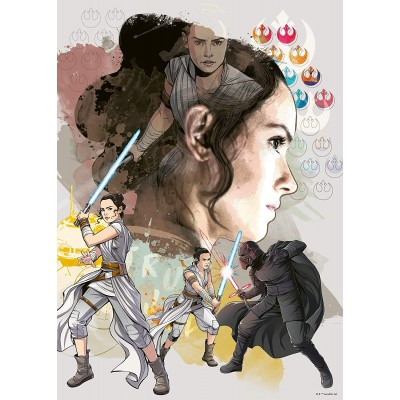 Puzzle  Ravensburger-14816 Star Wars