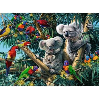 Puzzle  Ravensburger-14826 Koalas im Baum